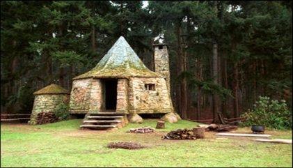 Hagrids huisje zweinstein wizardzone artikelen for Klein huisje in bos te koop